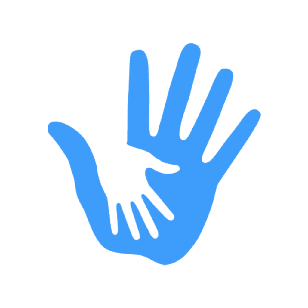 icon helping hand